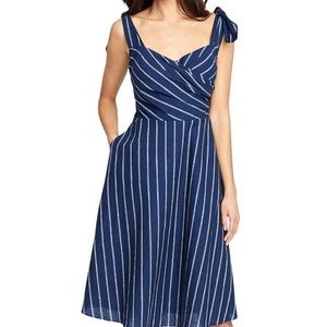 Women's Kate Linen Striped Casual Dress
